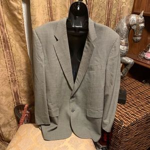 Men's Burberry 100% wool suit jacket/blazer 46